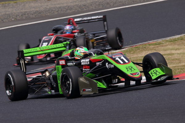Round 7. Sacha Fenestraz, B-Max Racing with Motopark Dallara F314 Volkswagen, 2nd. Photo by Masahide Kamio