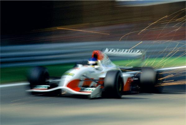 2003 Racing Past. . Exhibition1992 Italian Grand Prix, Monza. Michele Alboreto (Footwork FA13-Mugen), 7th position.World Copyright - LAT PhotographicExhibition ref: a067