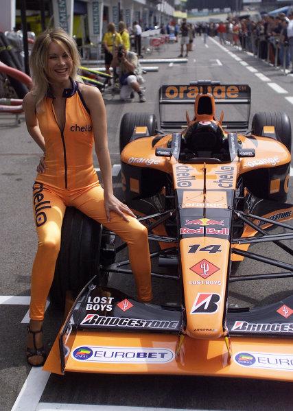 2001 Austrian Grand Prix.A1-Ring, Zeltweg, Austria.11-13 May 2001.An Arrows Orange model.World Copyright - Steve Etherington/LAT PhotographicRef:18mb Digital Image