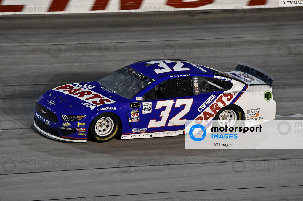 #32: Corey LaJoie, Go FAS Racing, Ford Mustang CorvetteParts.net