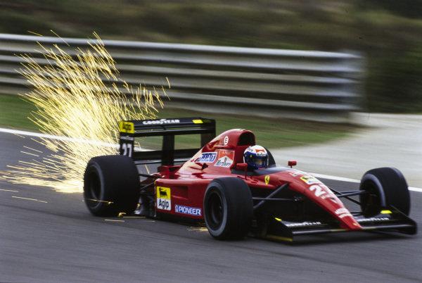 Alain Prost, Ferrari 643.