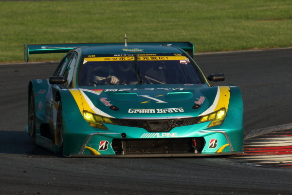 Shigekazu Wakisaka & Hiroki Yoshida SAITAMA TOYOPET GB Toyota MARK X MC, 2nd in GT300