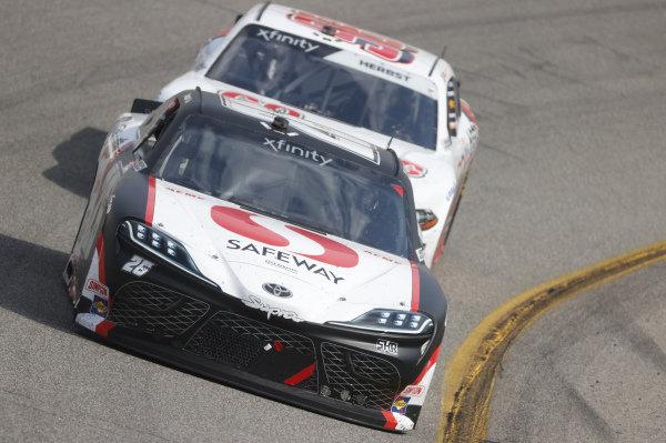 #26: John Hunter Nemechek, Sam Hunt Racing, Toyota Supra Safeway
