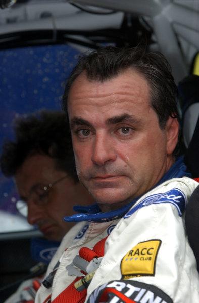 World Rally Championship, Cyprus Rally, April 18-21, 2002.Carlos Sainz. Photo: Ralph Hardwick/LAT