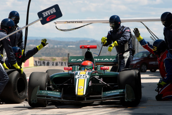 ALCANIZ (ESP) MAY 4-6 2012 -  First Round of the Formula Renault 3 5 Series 2012 at Motorland Aragon. Alexander Rossi (USA) #25 Arden Caterham. Action. © 2012 Sebastiaan Rozendaal / LAT Photographic