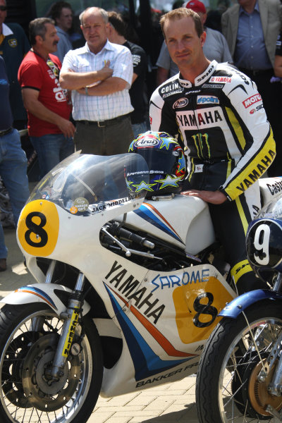 Assen, Netherlands.26th - 28th June 2009.Colin Edwards on Dutch TT legend Jack Middleburgs Yamaha.World Copyright: Martin Heath/LAT Photographicref: Digital Image BPI_Moto 8s82