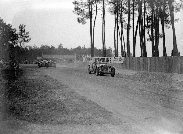 Le Mans, France. 16-17 June 1934.Earl Howe/Tim Rose-Richards (Alfa Romeo 8C-2300).Ref-Motor 800/91.World Copyright - LAT Photographic