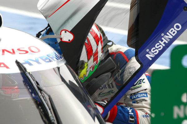 2015 FIA World Endurance Championship, Nurburgring, Germany. 28th - 30th August 2015. Alexander Wurz Toyota Racing Toyota TS040 Hybrid . World Copyright: Ebrey / LAT Photographic.