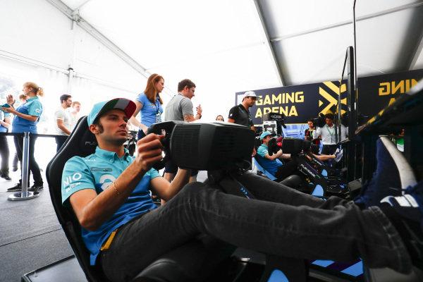 Luca Filippi (ITA), NIO Formula E Team, NextEV NIO Sport 003.