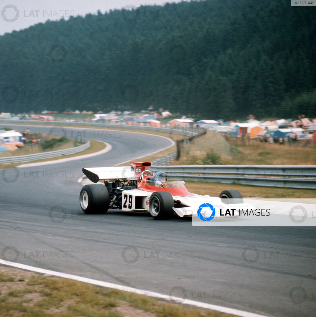 Nurburgring, Germany.28-30 July 1972.Dave Charlton (Lotus 72D Ford).Ref-3/5126F.World Copyright - LAT Photographic