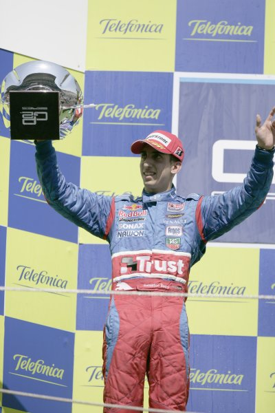 2008 GP2 Series. Round 1. Sunday Race.Barcelona, Spain. 27th April 2008Sebastien Buemi (SUI, Trust Team Arden). World Copyright: Alastair Staley/GP2 Series Media Service.ref:__P9O6142 jpg