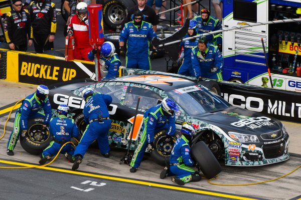 Monster Energy NASCAR Cup Series Coca-Cola 600 Charlotte Motor Speedway, Concord, NC USA Sunday 28 May 2017 Ty Dillon, Germain Racing, GEICO Military Chevrolet SS World Copyright: Nigel Kinrade LAT Images ref: Digital Image 17CLT2nk08851
