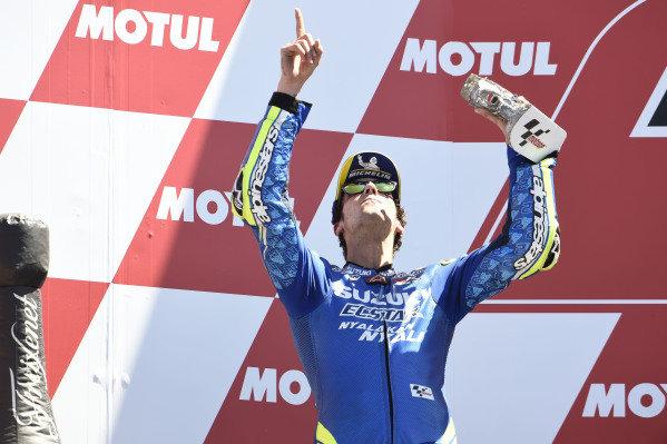 Podium: Alex Rins, Team Suzuki MotoGP.