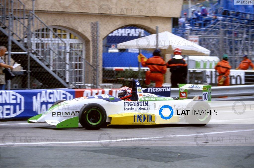 Formula Three Support RaceMonaco Grand PrixMonte carlo, Monaco. 1995Tony Kanaan (Tatuus Dallara)World Copyright: LAT Photographic