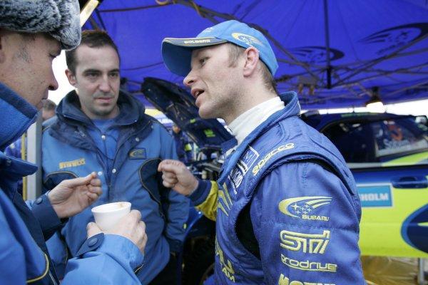 2006 FIA World Rally Champs. Round two Swedish Rally.2nd-5th February 2006.Petter Solberg, Subaru, Portrait.World Copyright: McKlein/LAT