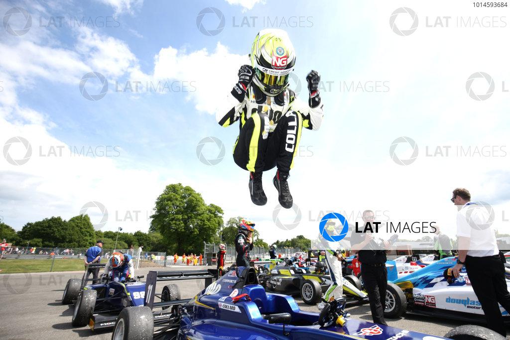 2016 BRDC F3 Championship  Oulton Park, Cheshire, 28th-30th May 2016, Ricky Collard (GBR) Carlin BRDC F3  World Copyright.Ebrey/LAT Photographic
