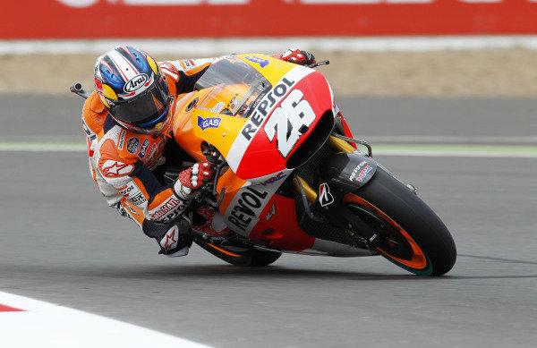 2014 MotoGP Championship  British Grand Prix.  Silverstone, England. 29th - 30st August 2014.  Dani Pedrosa, Honda.  Ref: _W1_5337. World copyright: Kevin Wood/LAT Photographic