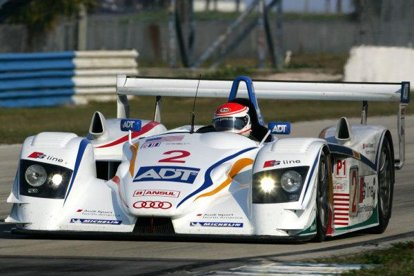 January 31-Feb. 3, 2005, SEBRING INTERNATIONAL RACEWAY  CHAMPION AUDI R8, NO 2 OF FRANK BIELA, ALLAN McNISH & EMANUELE PIRRO -2005, GREG ALECK