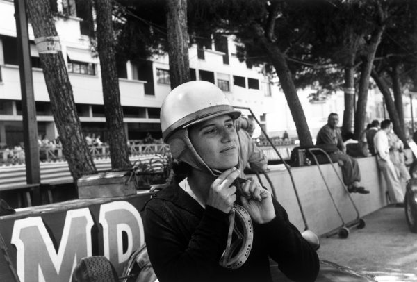 1958 Monaco Grand Prix. Monte Carlo, Monaco. 18th May 1958. Maria Teresa de Filippis (Maserati 250F), DNQ, portrait.  World Copyright: LAT Images.