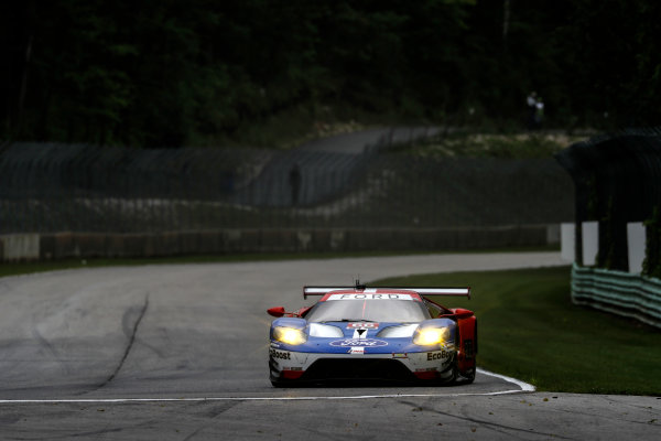IMSA WeatherTech SportsCar Championship Continental Tire Road Race Showcase Road America, Elkhart Lake, WI USA Friday 4 August 2017 66, Ford, Ford GT, GTLM, Joey Hand, Dirk Muller World Copyright: Michael L. Levitt LAT Images