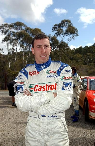 Markko Martin (EST) Ford.
