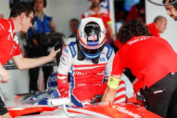 2017/2018 FIA Formula E Championship. Round 1 - Hong Kong, China. Saturday 02 December 2017. Felix Rosenqvist (SWE), Mahindra Racing, Mahindra M4Electro. Photo: Alastair Staley/LAT/Formula E ref: Digital Image _ALS5238