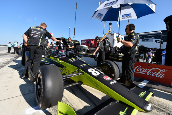 Verizon IndyCar Series ABC Supply 500 Pocono Raceway, Long Pond, PA USA Saturday 19 August 2017 Charlie Kimball, Chip Ganassi Racing Teams Honda World Copyright: Scott R LePage LAT Images ref: Digital Image lepage-170819-poc-1395