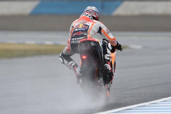 2017 MotoGP Championship - Round 15 Motegi, Japan. Friday 13 October 2017 Dani Pedrosa, Repsol Honda Team World Copyright: Gold and Goose / LAT Images ref: Digital Image 696289