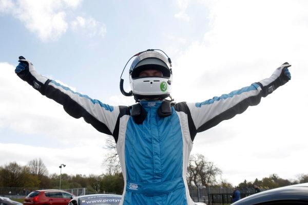 2014 Protyre Motorsport Ginetta GT5 Challenge, Oulton Park, Cheshire. 19th April 2014. Gary Simms (GBR) Buddy Racing Ginetta G40. World Copyright: Ebrey / LAT Photographic.