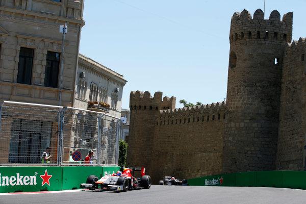 Baku City Circuit, Baku, Azerbaijan. Saturday 24 June 2017. Ralph Boschung (SUI, Campos Racing)  World Copyright: Hone/LAT Images ref: Digital Image _ONY9683