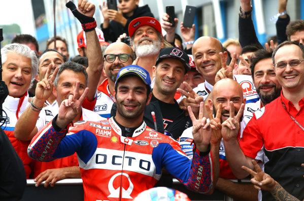 2017 MotoGP Championship - Round 8 Assen, Netherlands Sunday 25 June 2017 Second place Danilo Petrucci, Pramac Racing World Copyright: David Goldman/LAT Images ref: Digital Image 680152