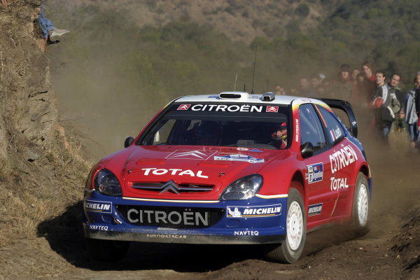 2005 FIA World Rally Champs. Round nine, Rally Argentina 14th - 17th July 2005 Sebastien Loeb, Citroen, action World Copyright: McKlein/LAT