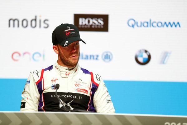 Sam Bird (GBR), DS Virgin Racing, DS Virgin DSV-03, in the post race press conference.
