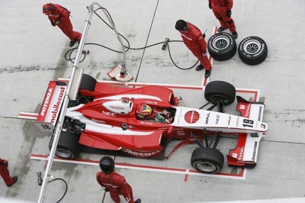 2006 Formula Nippon ChampionshipFuji, Japan. 26th - 27th August 2006Race winner Benoit Treluyer (mobilecast IMPUL), 1st position. Pitstop.World Copyright: Yasushi Ishihara / LAT Photographicref: Digital Image 2006FN_R6_004