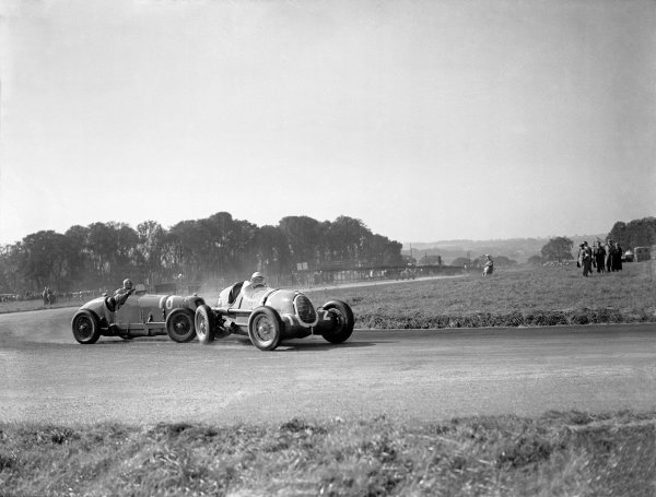 "1936 Donington Grand PrixDonington Park, England. 3 October 1936.""B