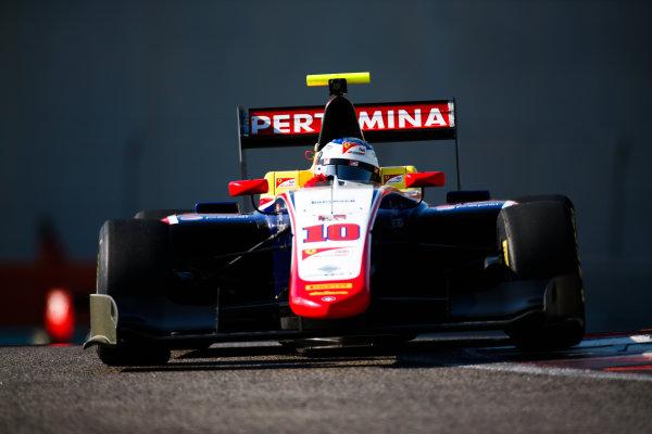 2017 GP3 Series Test 5. Yas Marina Circuit, Abu Dhabi, United Arab Emirates. Thursday 30 November 2017. Giuliano Alesi (FRA, Trident).  Photo: Joe Portlock/GP3 Series Media Service. ref: Digital Image _L5R2356