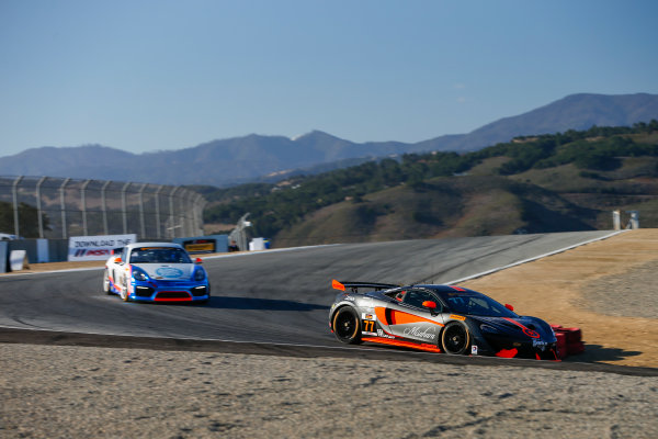 IMSA Continental Tire SportsCar Challenge Mazda Raceway Laguna Seca 240 Mazda Raceway Laguna Seca Monterey, CA USA Friday 22 September 2017 77, McLaren, McLaren GT4, GS, Nico Rondet, Mathew Keegan World Copyright: Jake Galstad LAT Images
