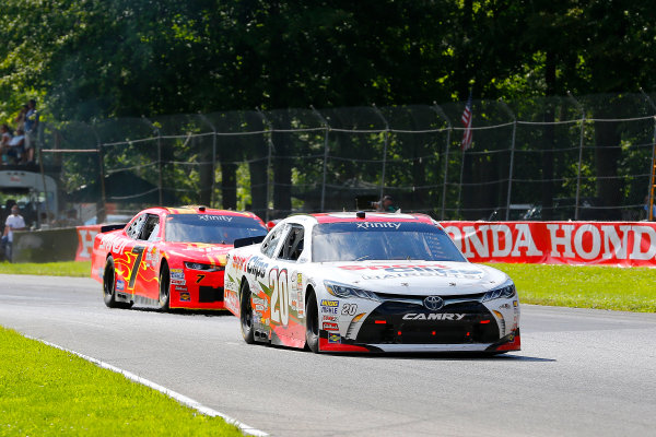 NASCAR XFINITY Series Mid-Ohio Challenge Mid-Ohio Sports Car Course, Lexington, OH USA Saturday 12 August 2017 James Davison, SportClips Toyota Camry and Justin Allgaier, BRANDT Professional Agriculture Chevrolet Camaro World Copyright: Russell LaBounty LAT Images