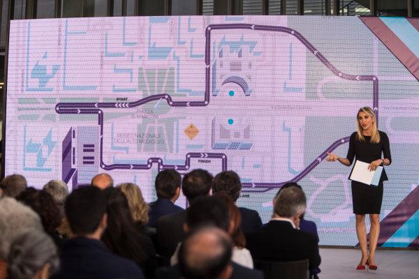 2017/2018 FIA Formula E Championship. Street Demonstration - Rome, Italy. New street circuit layout for the Formula E Championship in Rome. Thursday 19 October 2017. Photo: Andrew Ferraro/LAT/Formula E ref: Digital Image _FER4428