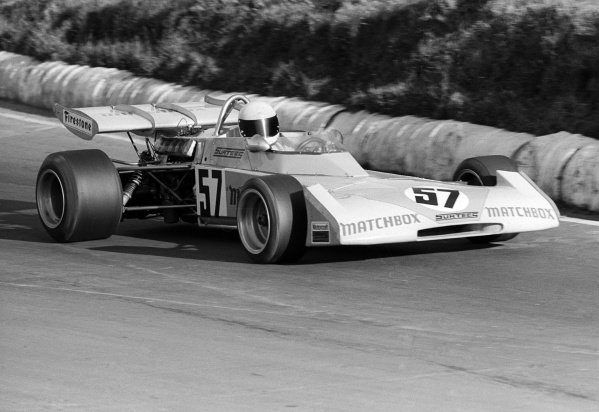 Mike Hailwood (GBR) Surtees TS10 finished the race in fifth position. European Championship for F2 Drivers, Rd 1,  Mallory Park, England, 12 March 1972.