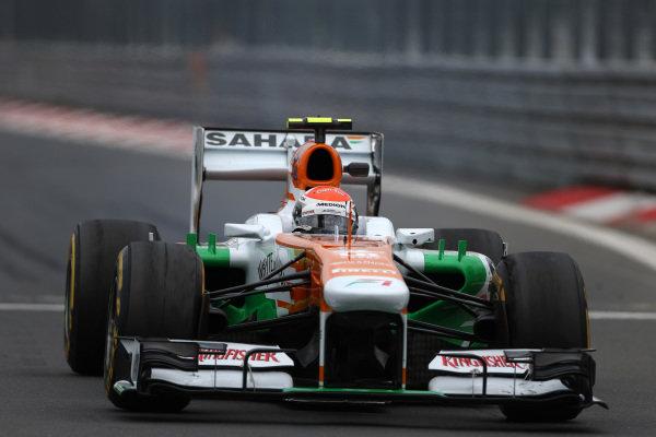 Adrian Sutil (GER) Force India VJM06/ Formula One World Championship, Rd9, German Grand Prix, Practice, Nurburgring, Germany, Friday 5 July 2013.