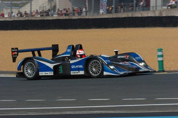 2007 Le Mans Test Day2nd and 3rd June 2007.Le Mans, France.Sunday Test DayMiguel Amaral (PRT)/Miguel Angel De Castro (ESP)/Warren Hughes (GBR) (no 40 Lola BO5/40 AER) action.World Copyright: Jeff Bloxham/LAT Photographic. ref: Digital Image DSC_6918