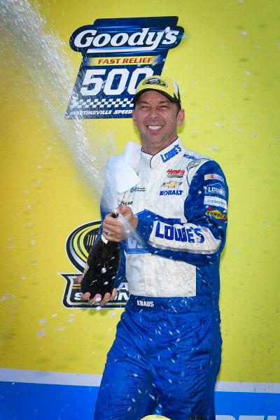 28-30 October, 2016, Martinsville, Virginia USA Chad Knaus celebrates in victory lane  ?2016, Logan Whitton  LAT Photo USA