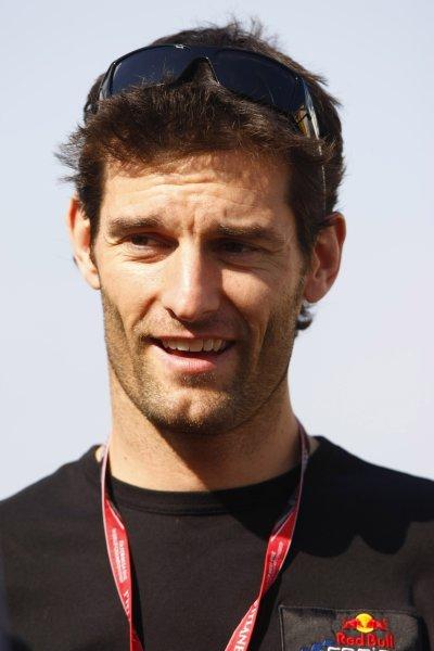 2008 Spanish Grand Prix - Thursday PreviewCircuit de Catalunya, Barcelona, Spain.24th April 2008.Mark Webber, Red Bull Racing RB4 Renault. Portrait.World Copyright: Charles Coates/LAT Photographic.ref: Digital Image _26Y0796