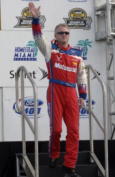 Ricky Rudd (USA). NASCAR Nextel Cup, Rd36, Homestead-Miami Speedway, Florida, USA, 20 November 2005. DIGITAL IMAGE