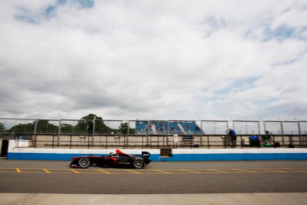 FIA Formula E Test Day, Donington Park, UK.  3rd - 4th July 2014.  Nick Heidfeld, Venturi Grand Prix. Photo: Zak Mauger/FIA Formula E ref: Digital Image _P7T1039
