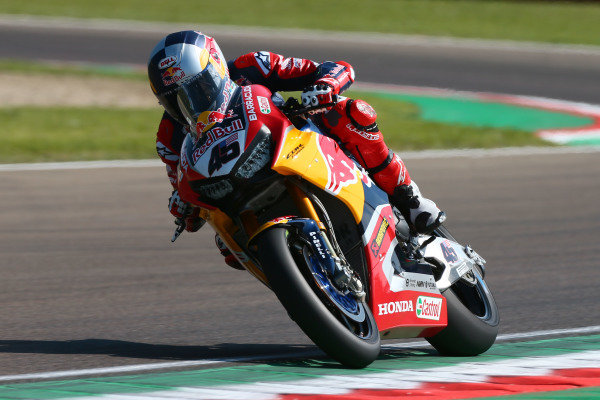 Jake Gagne, Honda WSBK Team.