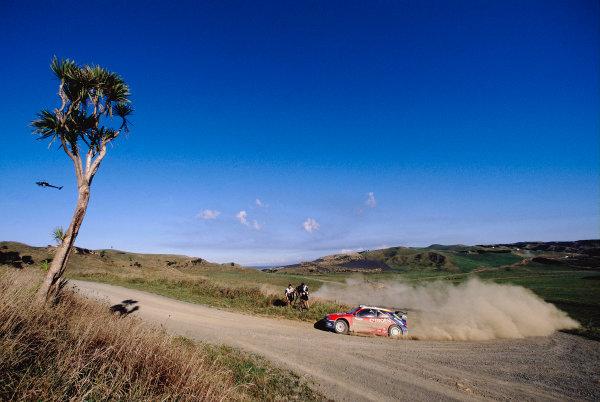 2003 World Rally ChampionshipRally New Zealand. 9th - 13th April 2003.Carlos Sainz/ Marc Marti (Citroen Xsara) 12th position.World Copyright: LAT Photographicref: 35mm Image A24