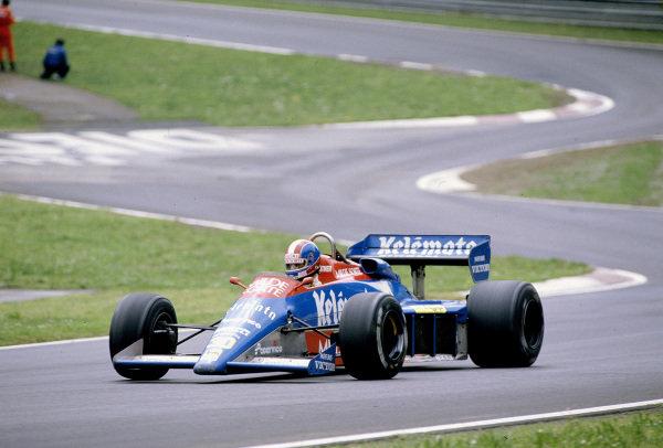 1984 San Marino Grand Prix.Imola, Italy.4-5 May 1984.Jo Gartner (Osella FA1E Alfa Romeo).Ref-84 SM 17.World Copyright - LAT Photographic