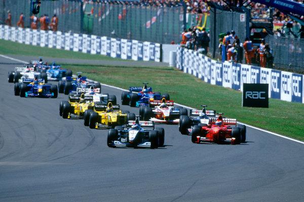 Silverstone, England.9th - 11th July 1999. Rd 8.xxxWorld Copyright: LAT PhotographicRef: 99GB10